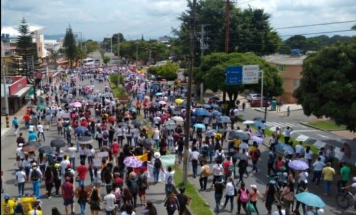 Autoridades en Ibagué y el Tolima acompañarán manifestaciones de este jueves 26 de agosto. 1
