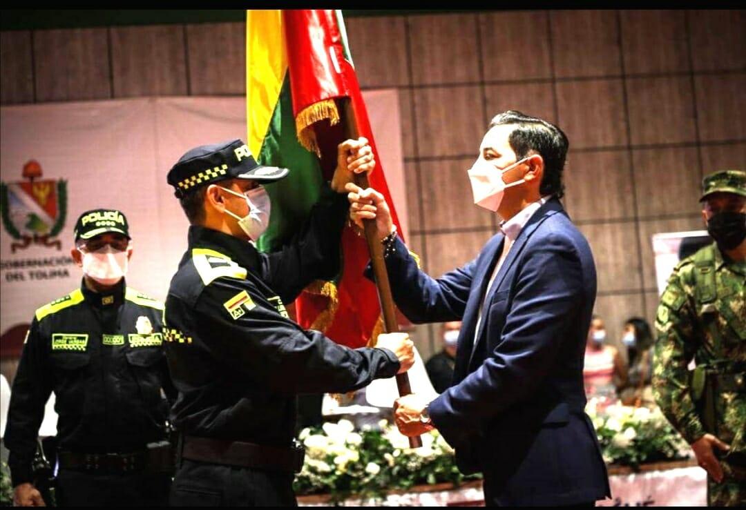 Alcalde Andrés Hurtado dio la bienvenida al nuevo comandante de la Policía Metropolitana. 1