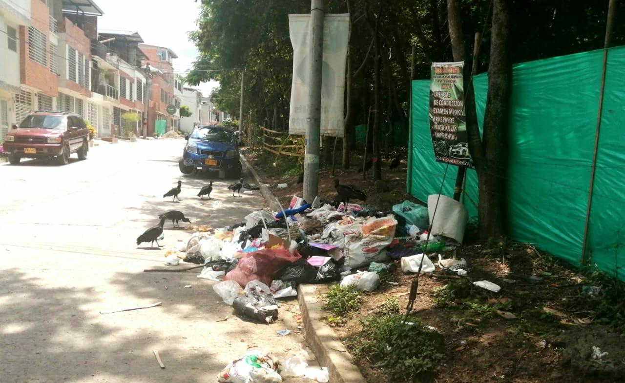 Interaseo un desastre en la recolección de basuras.. 1