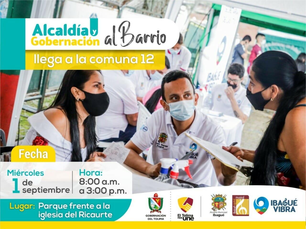 Hoy jornada de 'Alcaldía y Gobernación al Barrio' en la Comuna Doce.. 1