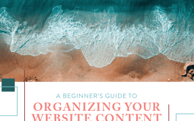 Part 1: A Beginner's Guide to Organizing Your Website Content