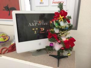 20141211オフィス・クリスマスツリー