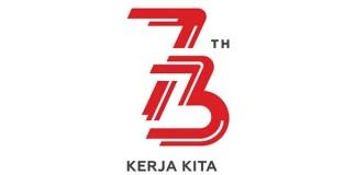 Logo HUT RI ke-73