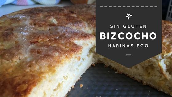 Bizcocho sin gluten harinas eco