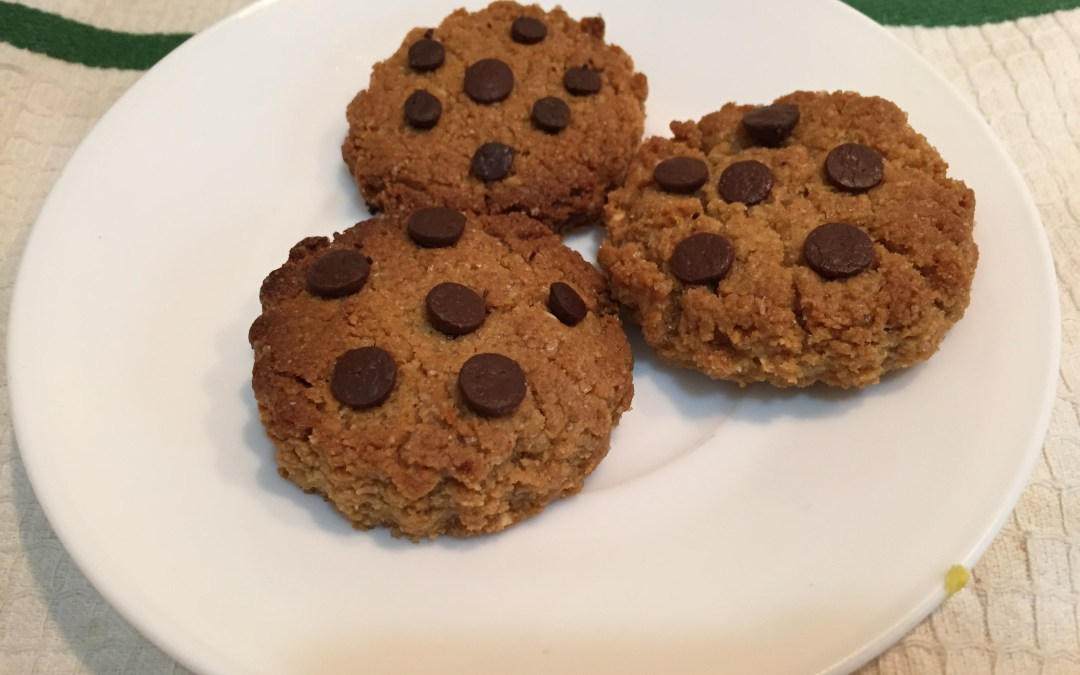 Galletas con trocitos de chocolate sin gluten