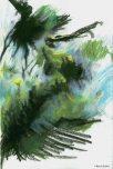 Crocodile (pastels)