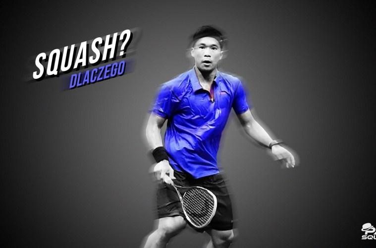 Gracz squash - dlaczego gramy w squasha