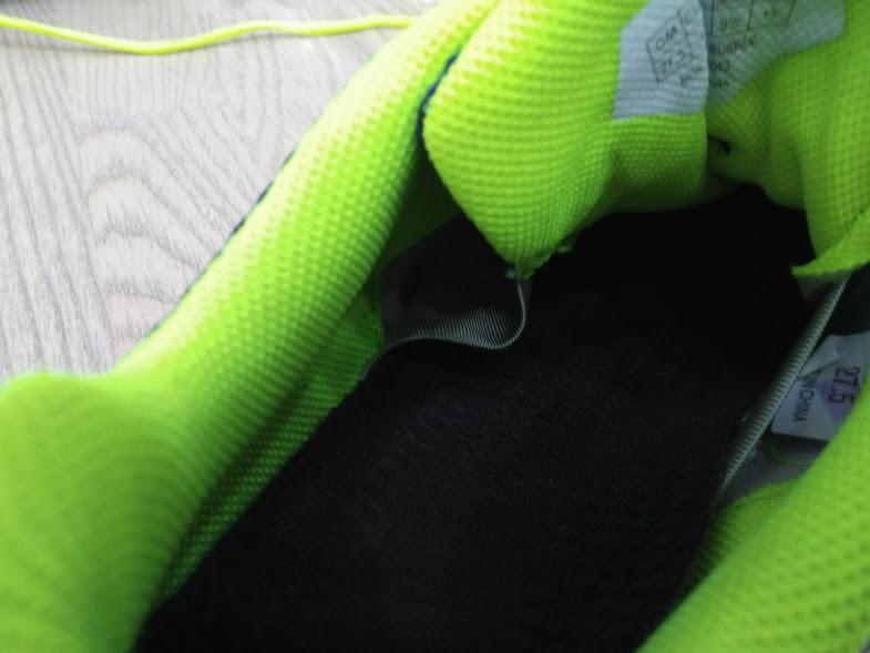 Yonex Aerus wnętrze buta