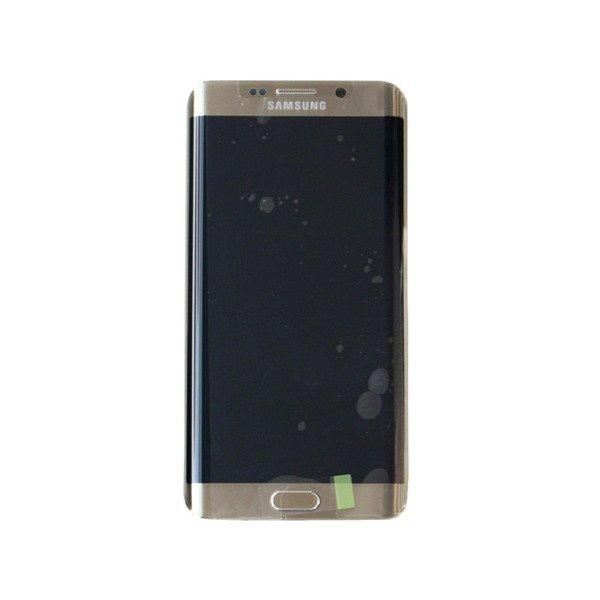 pol pl Samsung Galaxy S6 Edge plus wyswietlacz LCD zloty Gold Platinum 3648 1