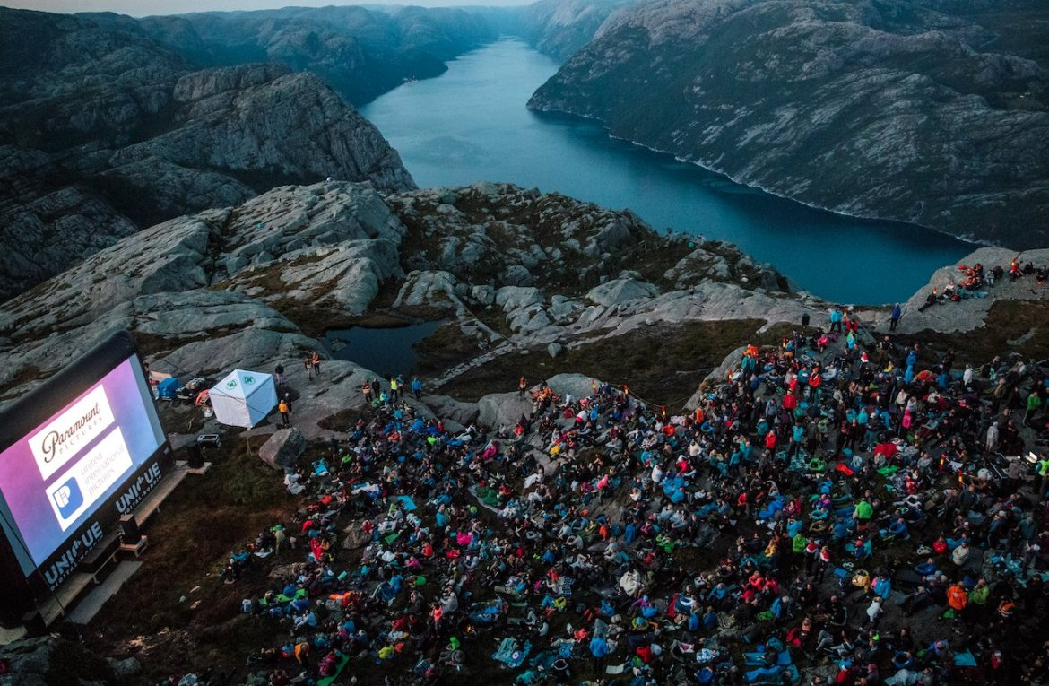 AIRSCREEN mission impossible en Noruega