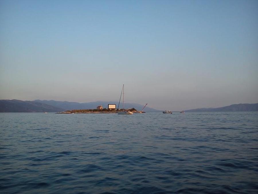 AIRSCREEN en una isla solitaria en Croacia