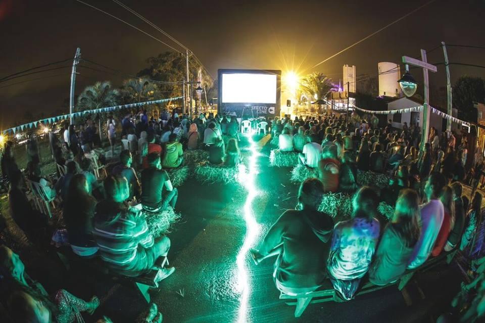 Eco cine y cine a pedal