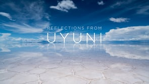 Reflections from Uyuni
