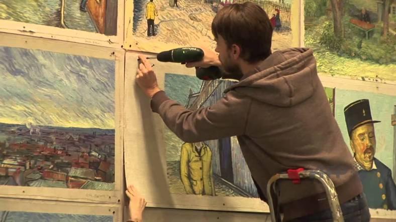 Una pel·lícula feta de pintures de Van Gogh: Loving Vincent
