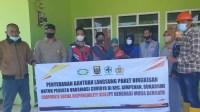 Kegiatan PT. GMB Memberikan Bantuan  Makanan Pokok Instan Di Desa Cihaur Kec. Simpenan