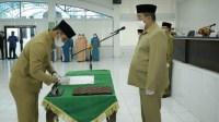 Wakil Bupati Lantik Pejabat Administrator dan Pejabat Pengawas di Lingkungan Pemkab Asahan