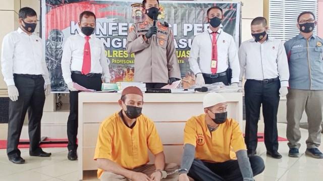 Diduga Korupsi ADD, Dua Mantan Kades di Muba Dilimpahkan ke Kejaksaan