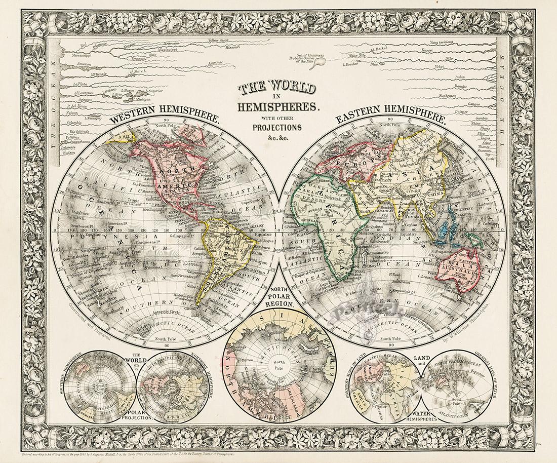 Western Hemisphere Eastern Hemisphere With Time Table Of