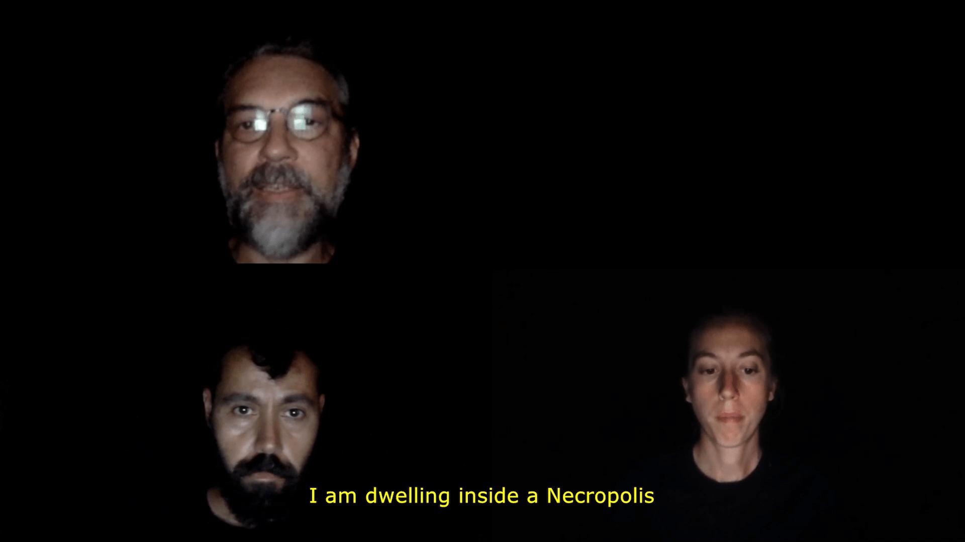NECROPOLIS | Arkadi Zaides Tanz im August | 2020