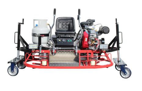 Pantheon 5FT Trowel – DRP-1524 Ride-On Propane Machine