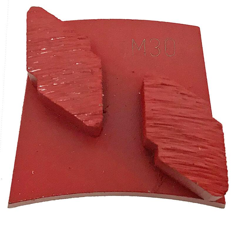 Syntec – Fast Change Double Diamond Shaped Segment – Medium Bond – Red