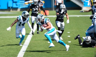 Panthers Highlights: Christian McCaffrey scores 2020's first touchdown