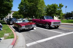 """Old school whips were brought out in protest of old """"No Cruising Zone"""" signs still up around the lake."""