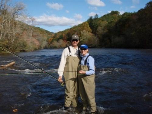 Fishing Panthertown Valley