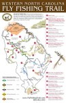 WNC Fly Fishing Trail Map