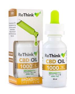 ReThink CBD Oil 1000mg  30ml