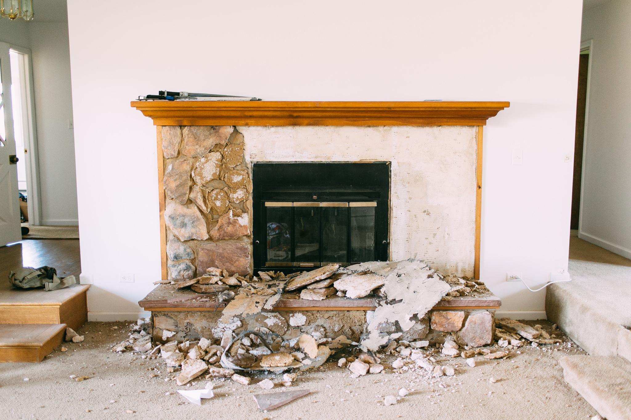 0729 fireplace demo-007