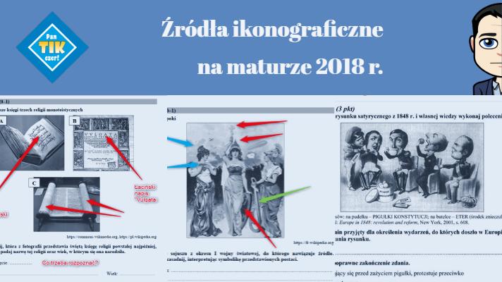 Źródła ikonograficzne na maturze z historii w maju 2018 r.