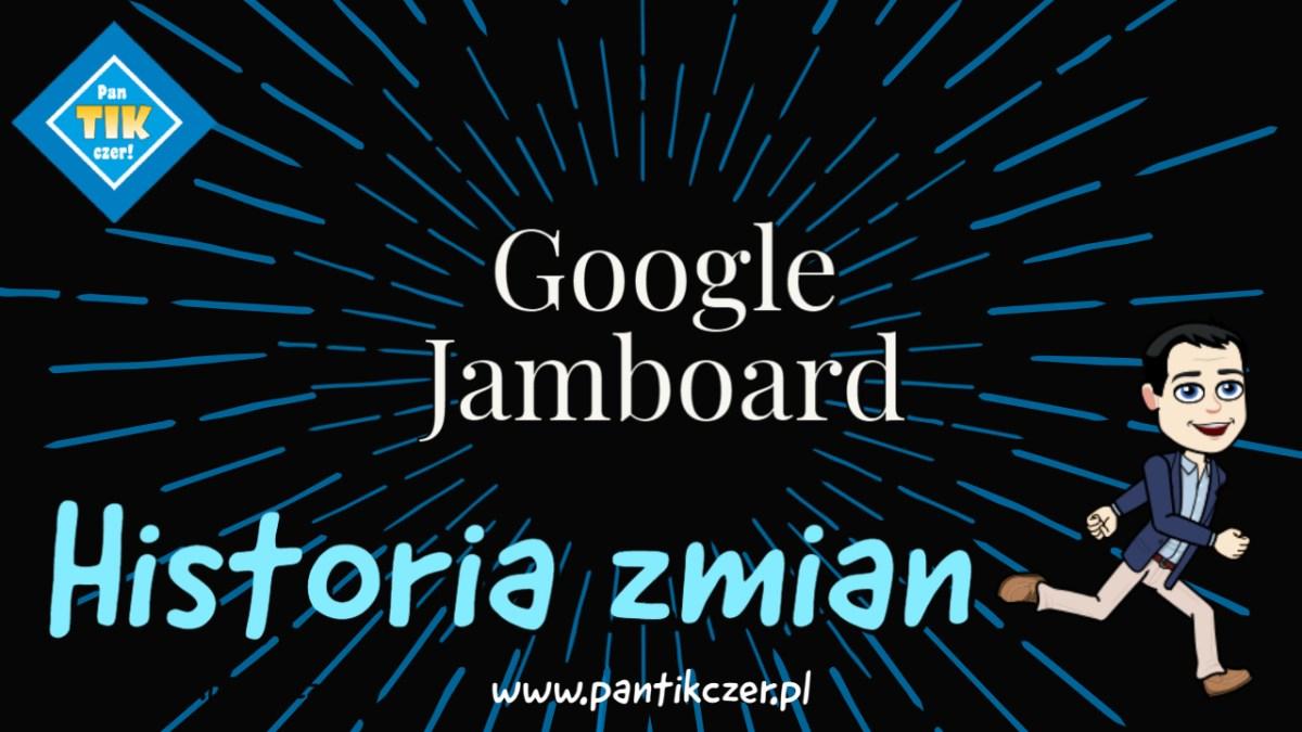 Google Jamboard – historia zmian