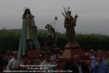 Procesión fiestas de Santiago - Pantín 25 de julio de 2011 - fotografía por Fermín Goiriz Díaz (12)