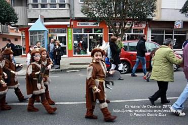 Desfile de Carnaval en Cedeira, 18 de febrero de 2012 - Carnaval Cedeira 2012 - Galicia -fotografía por Fermín Goiriz Díaz (19)