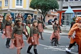 Desfile de Carnaval en Cedeira, 18 de febrero de 2012 - Carnaval Cedeira 2012 - Galicia -fotografía por Fermín Goiriz Díaz (3)