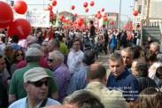Fotografías manifestación 29-M en Ferrol - +40.000 manifestantes - Ferrolterra - contra la reforma laboral del PP - Fotografía por Fermín Goiriz Díaz (7)