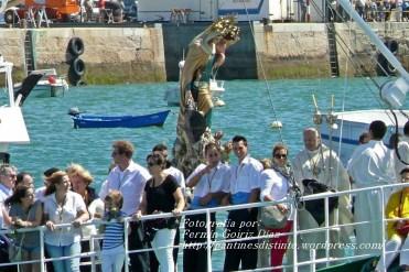 Procesión Marítima en honor de la Patrona de Cedeira - Cedeira, 16 de agosto de 2012 - fotografía por Fermín Goiriz Díaz (152)