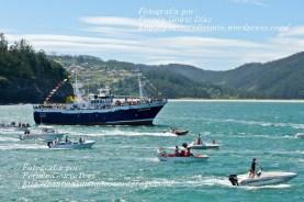 Procesión Marítima en honor de la Patrona de Cedeira - Cedeira, 16 de agosto de 2012 - fotografía por Fermín Goiriz Díaz (168)