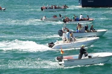 Procesión Marítima en honor de la Patrona de Cedeira - Cedeira, 16 de agosto de 2012 - fotografía por Fermín Goiriz Díaz (170)