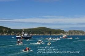 Procesión Marítima en honor de la Patrona de Cedeira - Cedeira, 16 de agosto de 2012 - fotografía por Fermín Goiriz Díaz (181)
