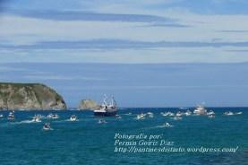 Procesión Marítima en honor de la Patrona de Cedeira - Cedeira, 16 de agosto de 2012 - fotografía por Fermín Goiriz Díaz (196)