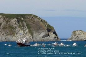 Procesión Marítima en honor de la Patrona de Cedeira - Cedeira, 16 de agosto de 2012 - fotografía por Fermín Goiriz Díaz (255)