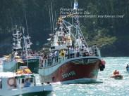 Procesión Marítima en honor de la Patrona de Cedeira - Cedeira, 16 de agosto de 2012 - fotografía por Fermín Goiriz Díaz (378)