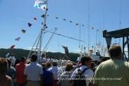 Procesión Marítima en honor de la Patrona de Cedeira - Cedeira, 16 de agosto de 2012 - fotografía por Fermín Goiriz Díaz (396)