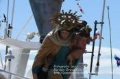 Procesión Marítima en honor de la Patrona de Cedeira - Cedeira, 16 de agosto de 2012 - fotografía por Fermín Goiriz Díaz (406)