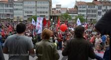 Folga Comarcal Ferrol, Huelga General Ferrol, 12 de xuño de 2013 - manifestación Ferrol, 12-06-2013 - fotografía por Fermín Goiriz Díaz(134)