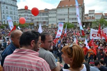 Folga Comarcal Ferrol, Huelga General Ferrol, 12 de xuño de 2013 - manifestación Ferrol, 12-06-2013 - fotografía por Fermín Goiriz Díaz(153)