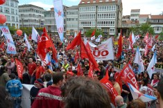 Folga Comarcal Ferrol, Huelga General Ferrol, 12 de xuño de 2013 - manifestación Ferrol, 12-06-2013 - fotografía por Fermín Goiriz Díaz(173)