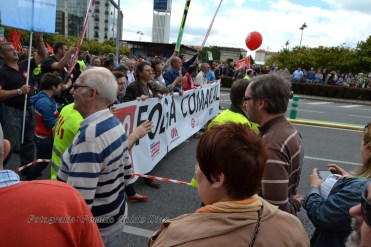 Folga Comarcal Ferrol, Huelga General Ferrol, 12 de xuño de 2013 - manifestación Ferrol, 12-06-2013 - fotografía por Fermín Goiriz Díaz(37)